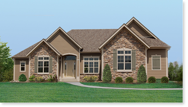Affordable home builder in wisconsin and milwaukee allan for Brighton homes home designs